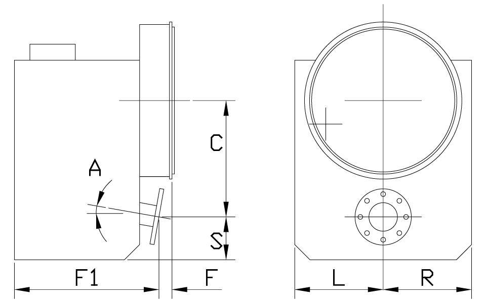 Integral V Drive Dimensions