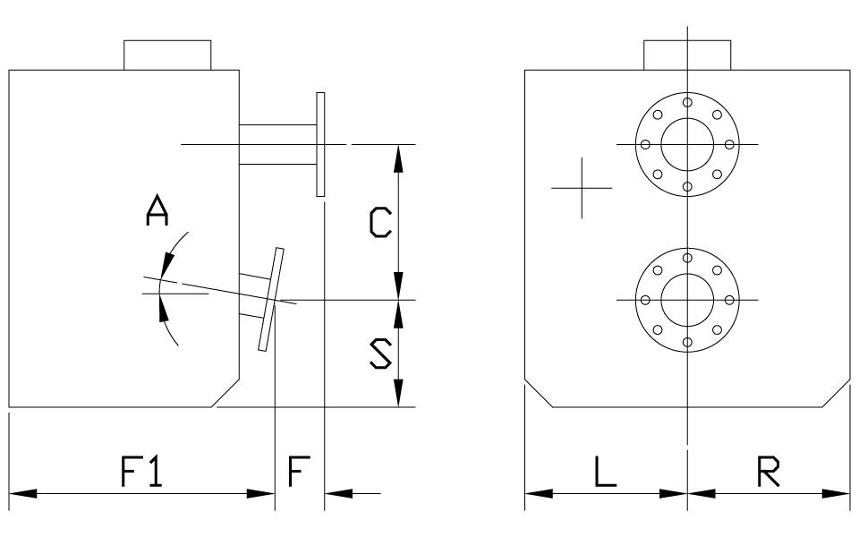 Remote V Drive Dimensions
