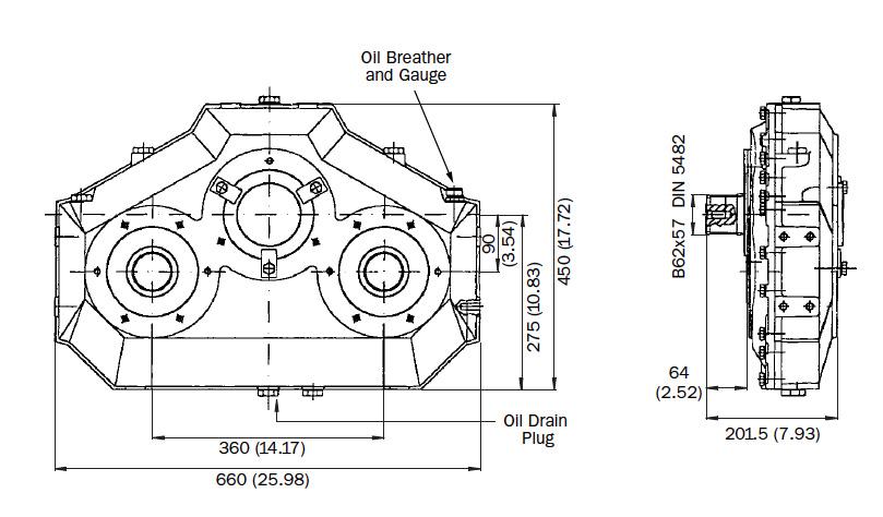 AM230 Dimensions