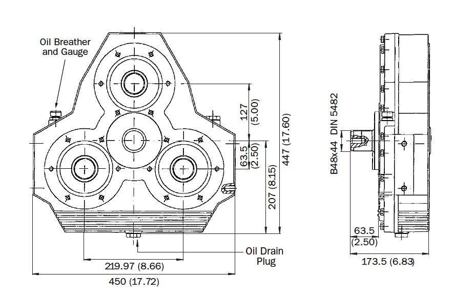 AM320 Dimensions