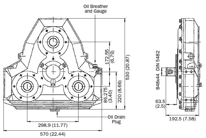 AM330 Dimensions