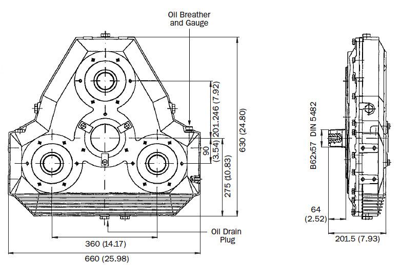 AM345 Dimensions