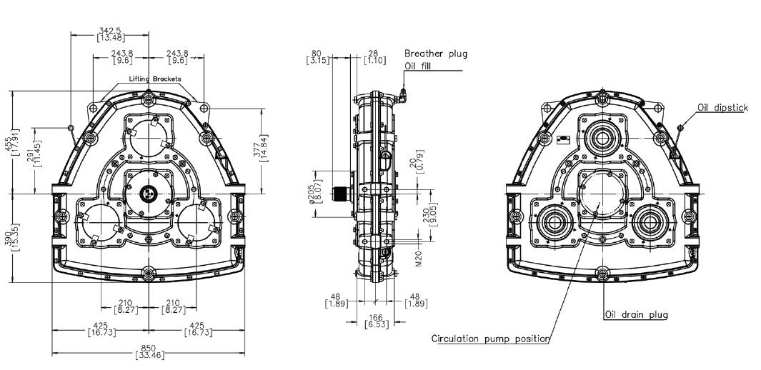 AM370 Dimensions