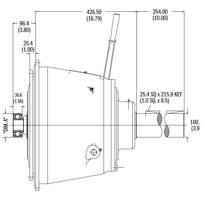 IB314IL Dimensions