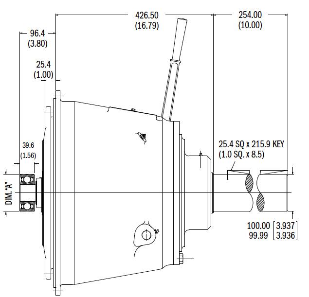 IB314P Dimensions