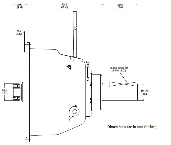 IB318IL1 Dimensions