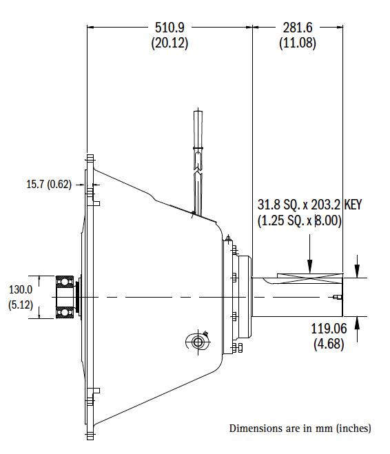 IB321IL Dimensions