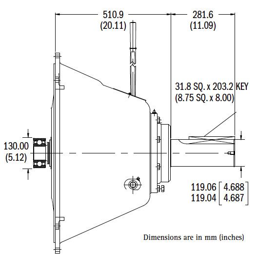 IB321P Dimensions