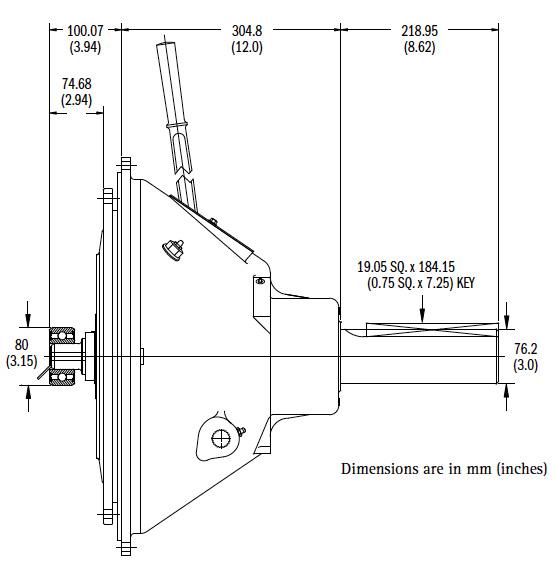 SP114P Dimensions