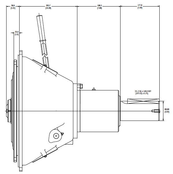 SP214IL Dimensions