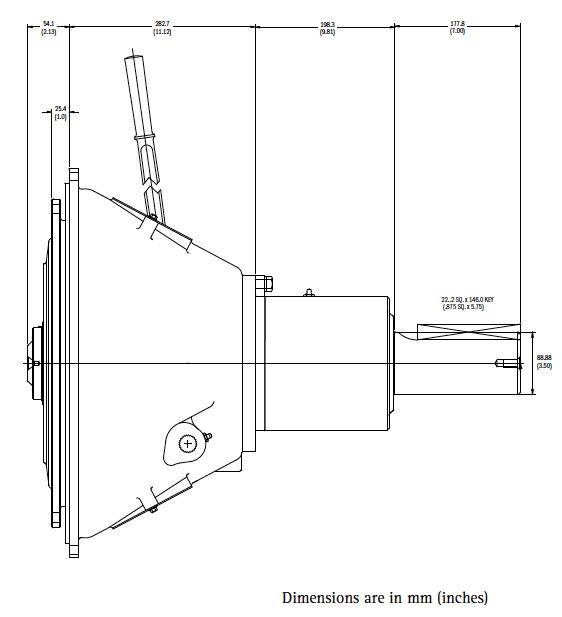 SP314IL Dimensions