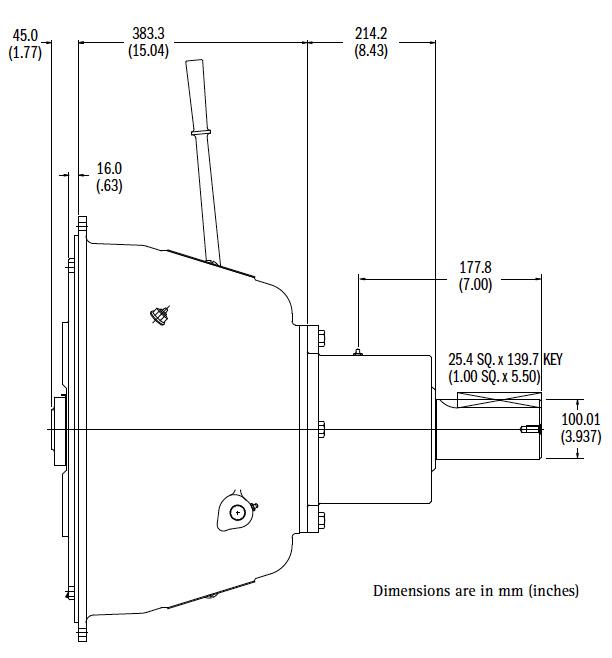 SP318IL Dimensions