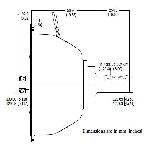 SP321P Dimensions