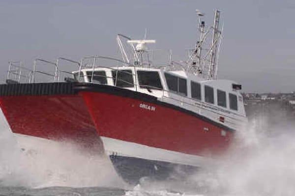 "16M HYDROGRAPHIC SURVEY/CREW TRANSFER CATAMARAN ""ORCA III"""